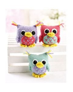 Trio of Owls Knit Kit