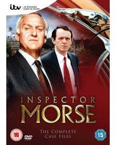 Inspector Morse The Complete Case Files 18 DVDs Collection