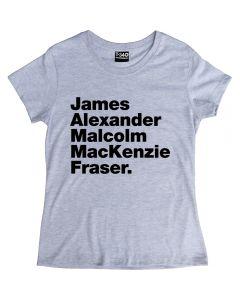 Outlander Jamie Fraser Ladies T-shirt