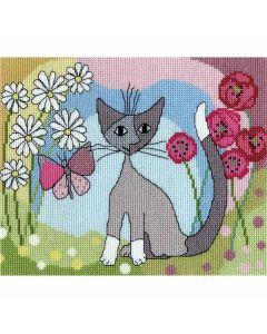 Rosina Wachtmeister: Lazy Daisy Counted Cross Stitch Kit