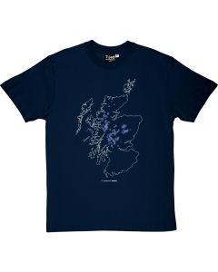 Munros Map Men's T-shirt