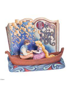One Magical Night Storybook Tangled Figurine