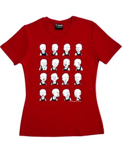 Oor Wullie's Expressions Ladies T-shirt