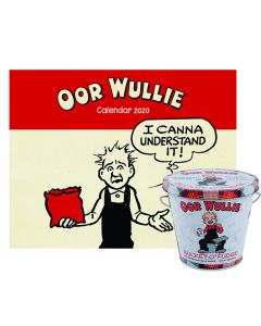 Oor Wullie Calendar 2020 & Bucket O'Fudge