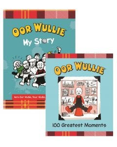 Oor Wullie My Story & 100 Greatest Moments Book