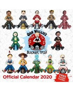 Oor Wullie BIG Bucket Trail Calendar 2020