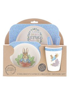 Peter Rabbit™ Bamboo Dinner Set
