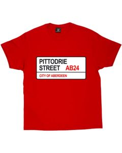 Pittodrie Street T-Shirt