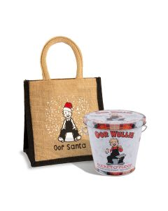 Oor Wullie Santa Bag & Bucket O'Fudge