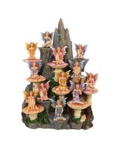 Set of 12 Fairies and Stand