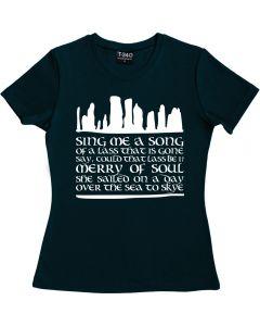 Outlander: Skye Boat Song Ladies T-shirt