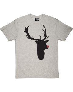 Tartan Nosed Rudolph Men's T-shirt