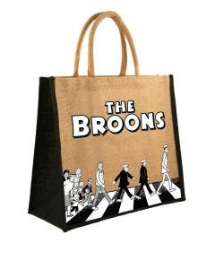 The Broons Abbey Road Large Shopper