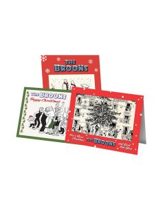 The Broons Christmas Cards - Pack of 12