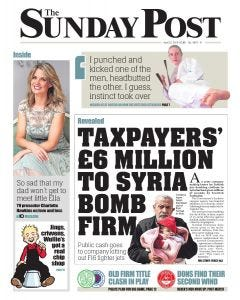 The Sunday Post Subscription - Central Edition