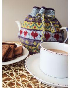 Hearts Fairisle Tea Cosy