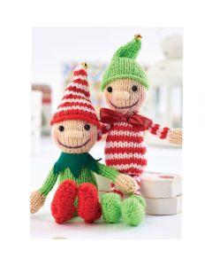 Jingle and Tinsel Elves Yarn Kit