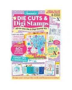 Die Cuts and Digi Stamps Bookazine