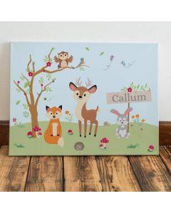Woodland Wall Canvas