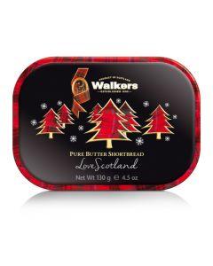 Walkers Christmas Trees Mini Tin