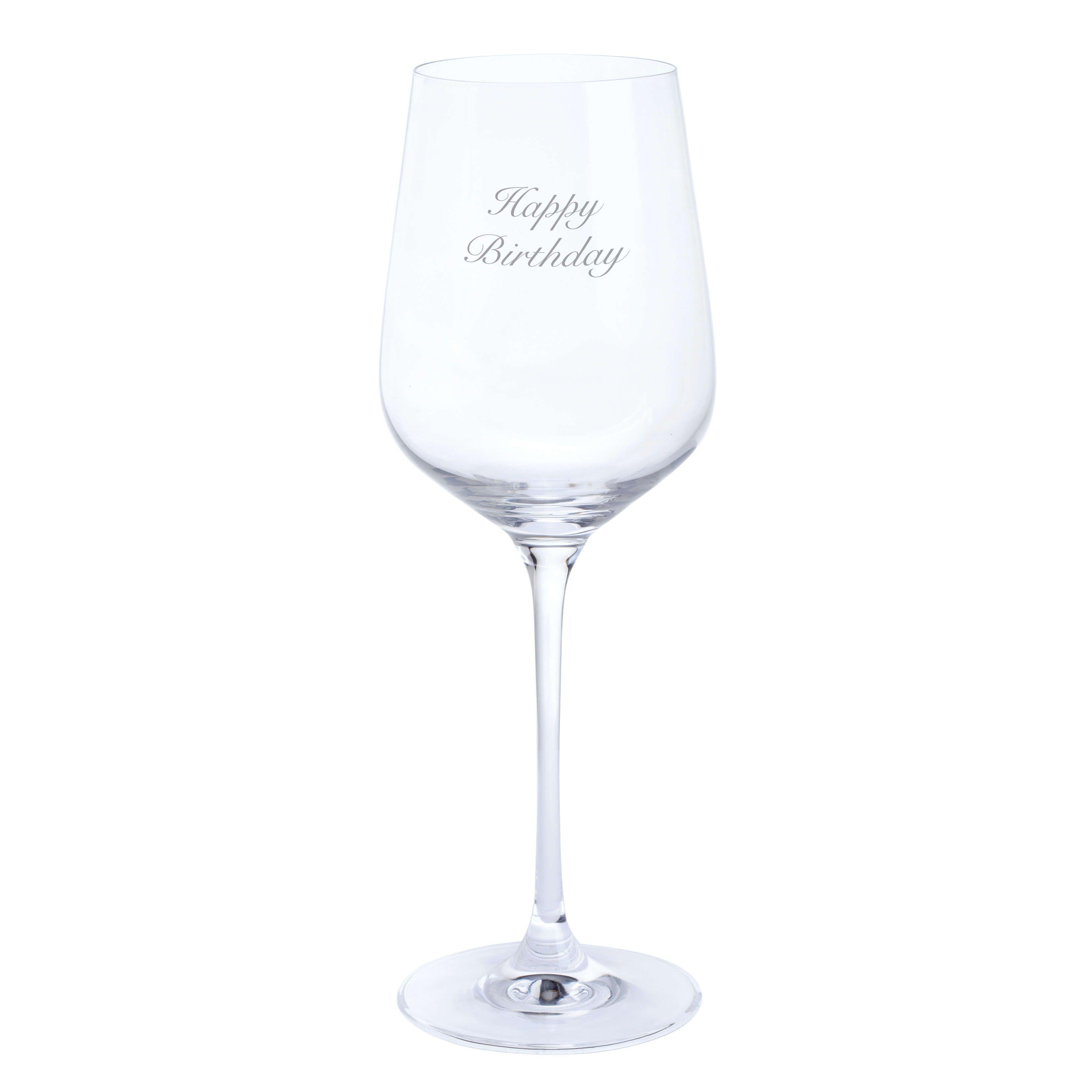 dartington wine glass happy birthday - Happy Birthday Wine Glass