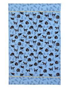 Ulster Weavers Cat Nap Cotton Tea Towel