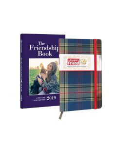 The People's Friend Tartan Notebook & 2019 Friendship Book Pack