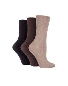 Ladies Gentle Grip Diabetic Socks