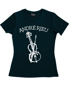 André Rieu Violin Ladies Round Neck T-shirt