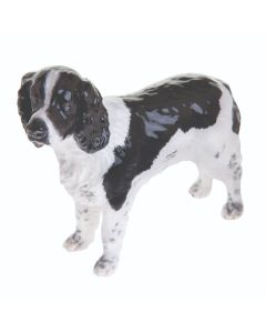 John Beswick Black & White English Springer Spaniel Figurine