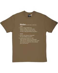 Blether Definition T-shirt