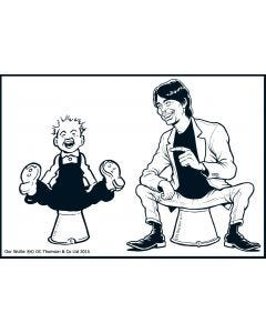 Oor Wullie and You - Personalised Print & Canvas