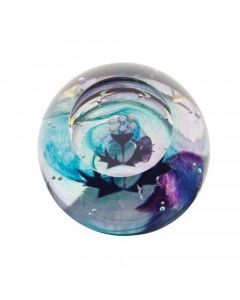 Caithness Mini Thistle Paperweight