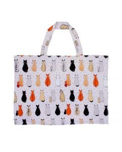 Ulster Weavers Cats in Waiting Canvas Shopper