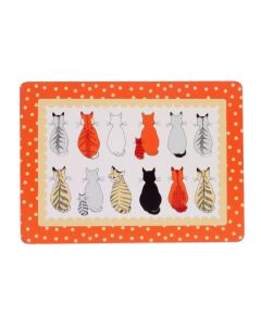 Ulster Weavers Cats in Waiting Placemats 4-Pack