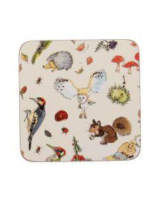 Ulster Weavers Madeleine Floyd Woodland Coasters 4-Pack