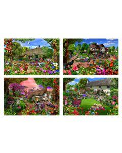 Cottage Garden Jigsaw Collection