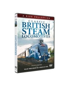 British Steam Locomotives DVD Collection