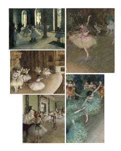 Edgar Degas Print Collection
