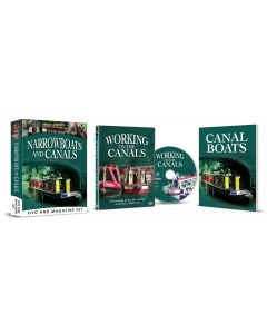 Narrowboats & Canals DVD & Magazine Set