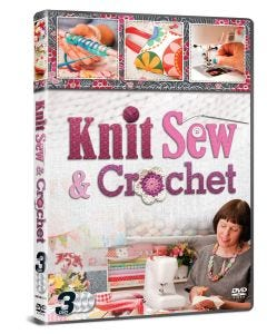 Knit Sew & Crochet 3 DVD Set