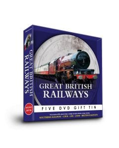 Great British Railways 5 DVD Gift Tin