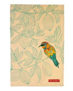 Eden Project Bee-eater Cotton Tea Towel