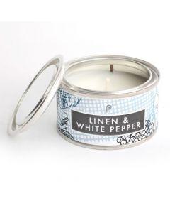 Linen & White Pepper & Sea Salt Elements Candles