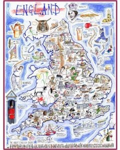 England Jigsaw by Tim Bulmer