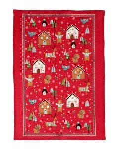 Ulster Weavers Festive Friends Tea Towel
