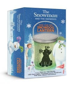 The Snowman and the Snowdog Lantern