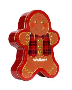 Walkers Gingerbread Man Tin