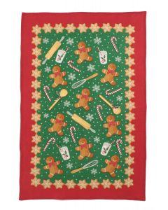 Ulster Weavers Gingerbread Men Tea Towel