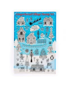 Gingerbread Village Stamp Set